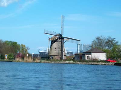 amsterdam wind mill