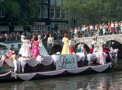 canal parade amsterdam